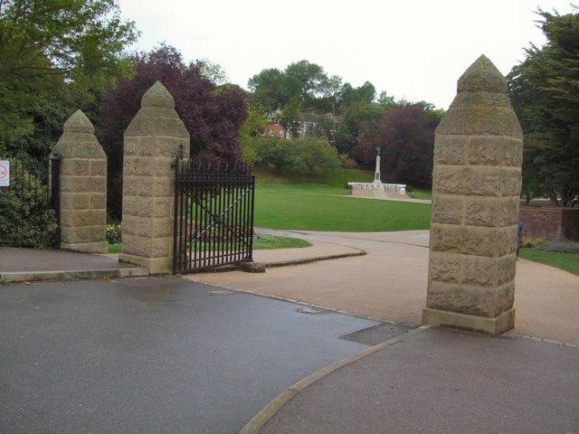 Entrance gates - Alexandra Park