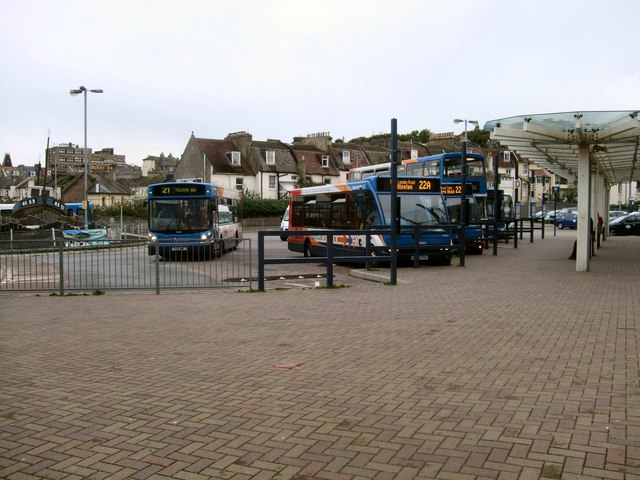 Buses at Hastings Station