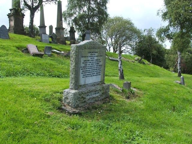 Gravestone of John Mossman