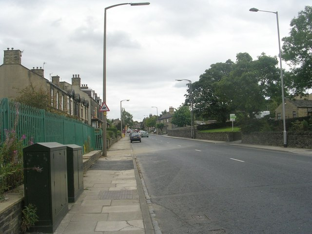 Leeds Road - viewed from Cyprus Drive