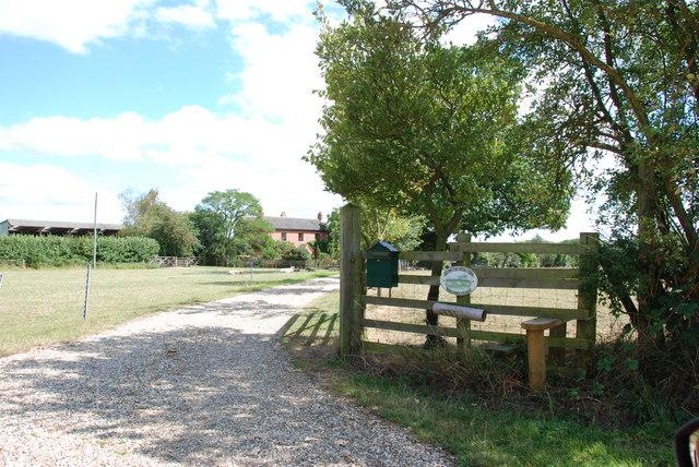 Entrance to Bromstead House Farm