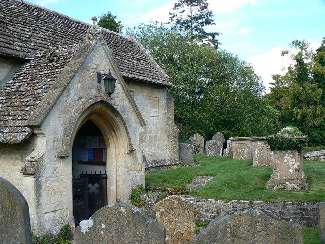 South porch, Church of St James, Cherhill