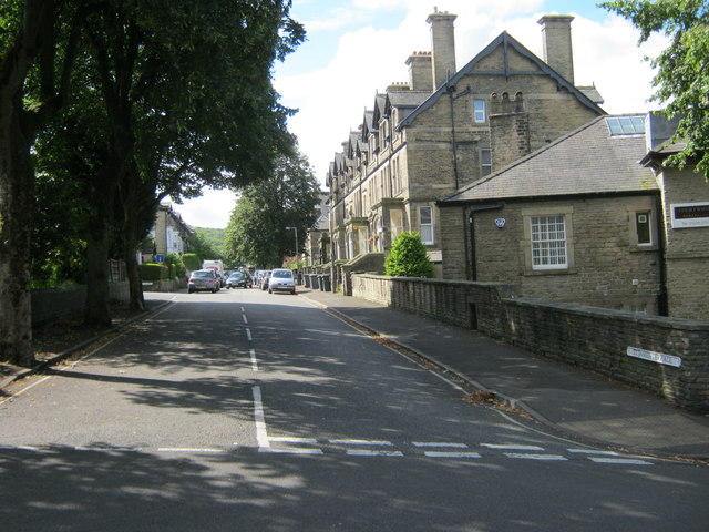 St James Terrace in Buxton