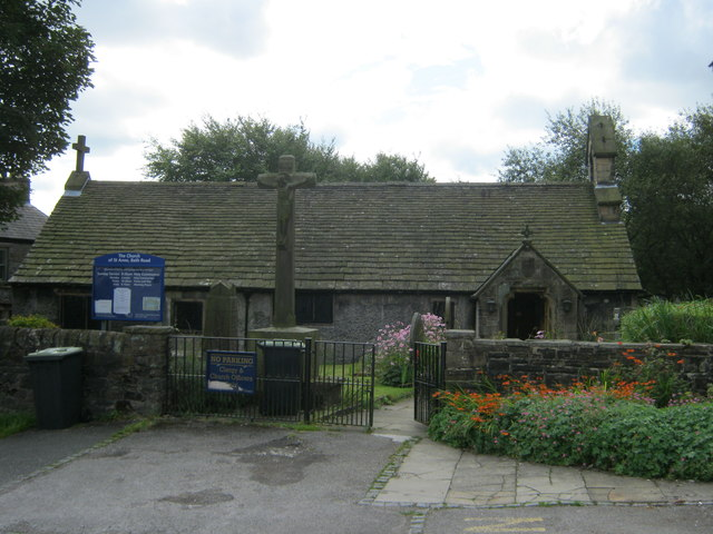 The Church of St Anne in Bath Road Buxton