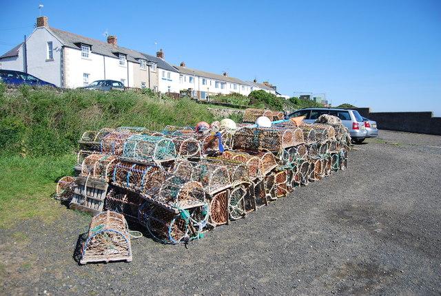 Crab pots, Craster