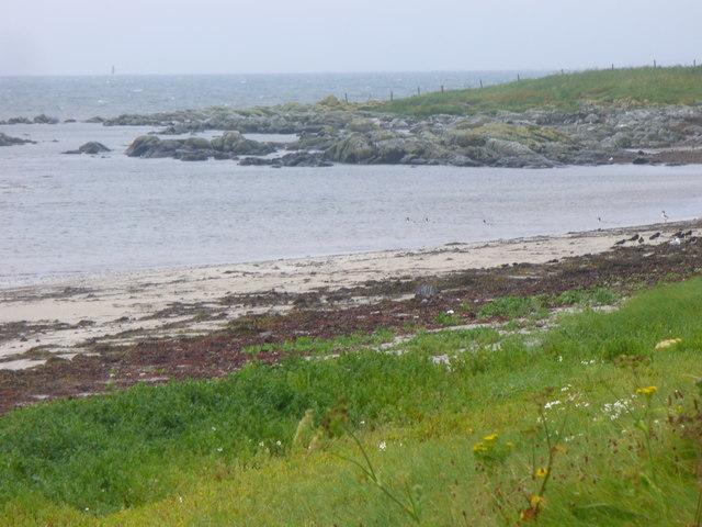 Beach at Ceann a' Gharaidh