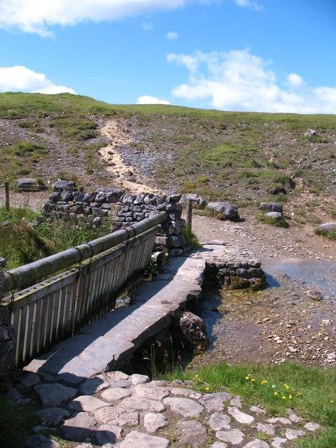 Footbridge over Gordale Beck