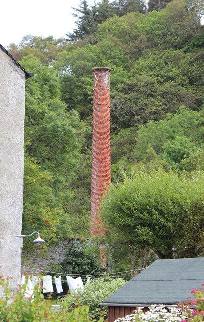 "The ruins of the ""wood vinegar"" factory, Crinan"