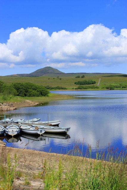 Holl Reservoir, by Leslie.