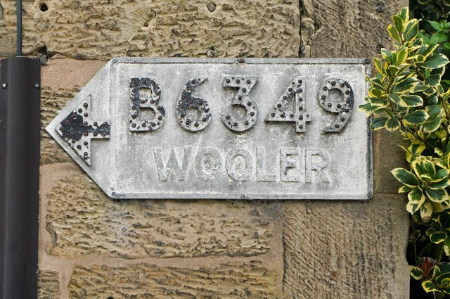 Pre-Worboys pointer sign, Belford