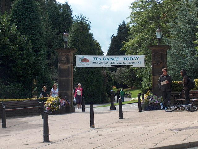 Entrance to Valley Gardens, Harrogate