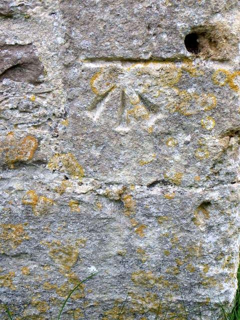 Bench Mark, All Saints' Church
