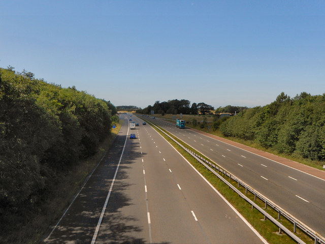 M55 Towards Blackpool