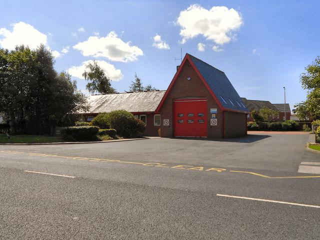 Wesham Fire Station, Fleetwood Road