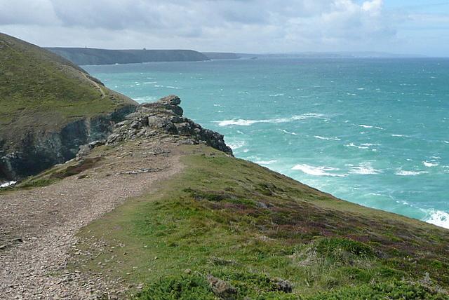 Coastline beyond Chapel Porth