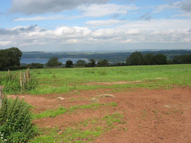 Farmland on Harptree Hill