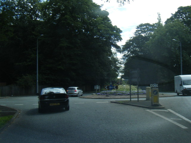 Chelford Road roundabout