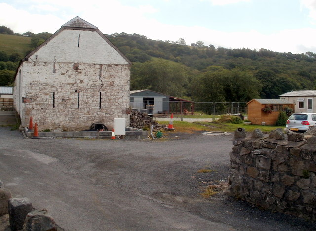 Farm buildings, Pont-rhyd-arw, Penycae