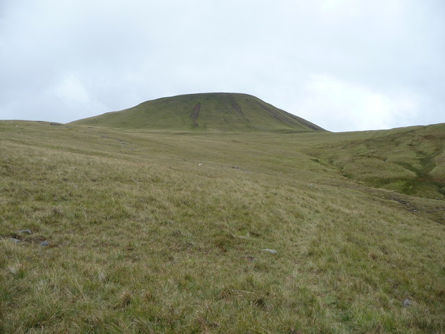 View up to Fan Foel from the Nant Melyn valley