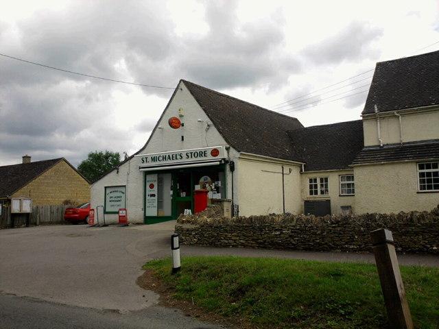 St. Michael;s Store, Shipton Under Wychwood