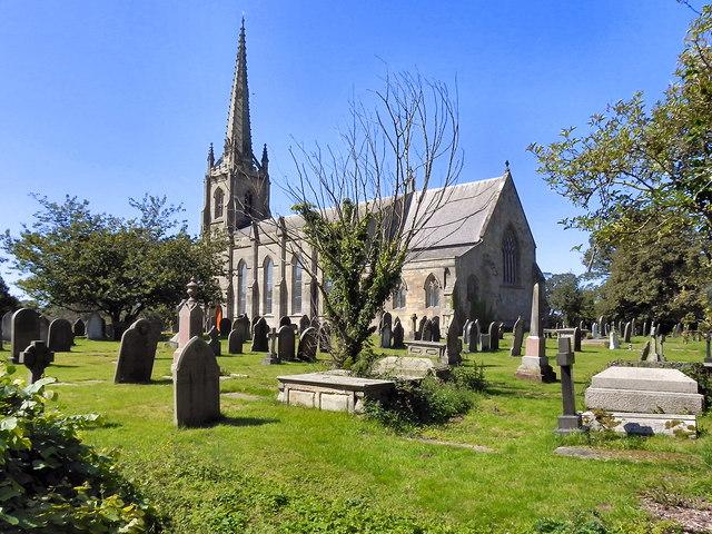 The Parish Church of St Michael, Kirkham
