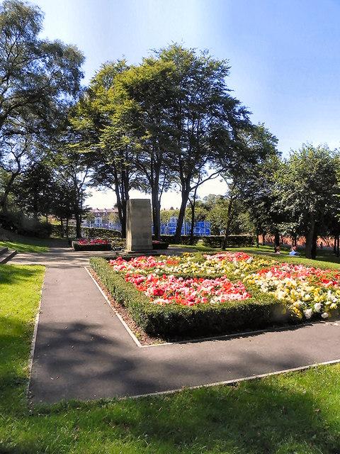 Memorial Garden and War Memorial, Kirkham