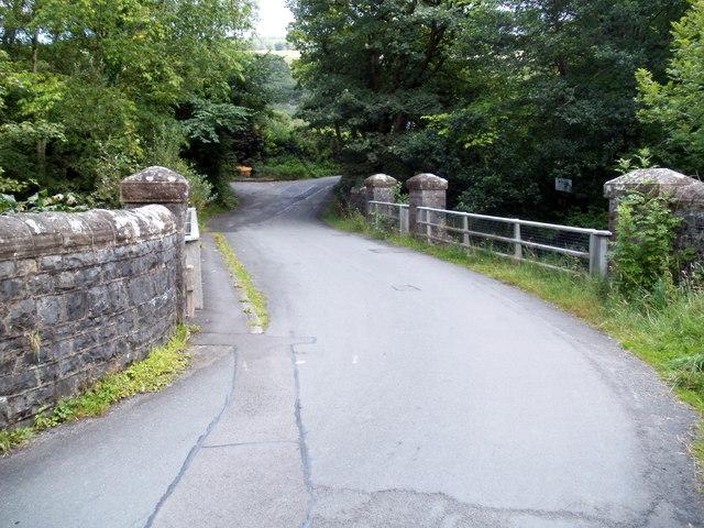 Bridge across the Tawe, Penycae