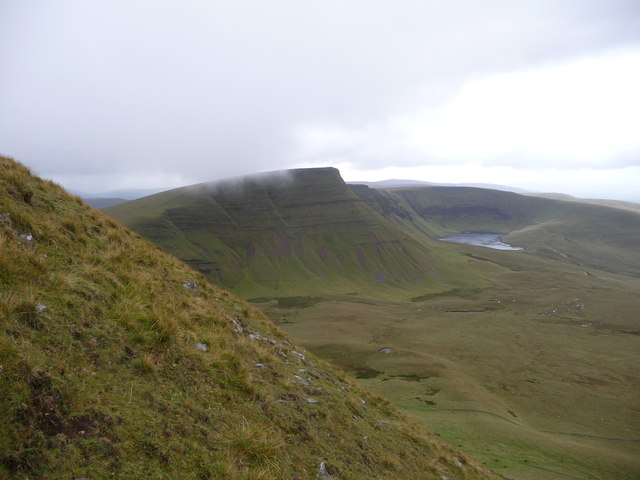 View towards Picws Du from Fan Foel