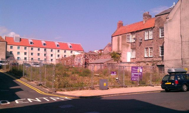 Site of former Berwick Playhouse