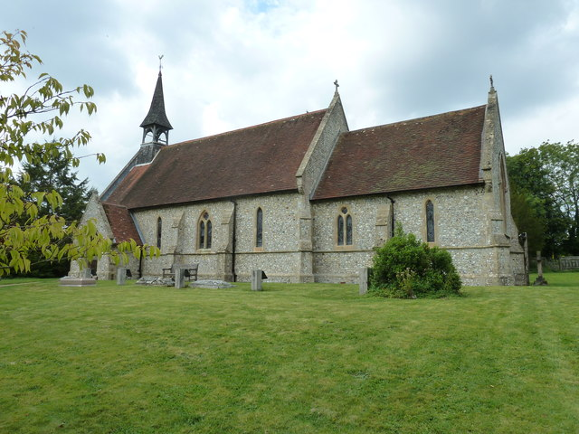 St Peter & Paul, Shalden: August 2011