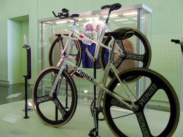 Graeme Obree's bikes