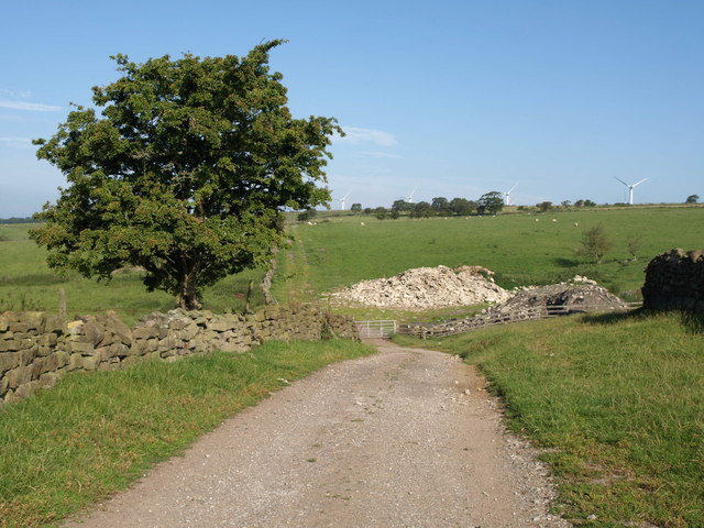 Footpath west of Central House Farm