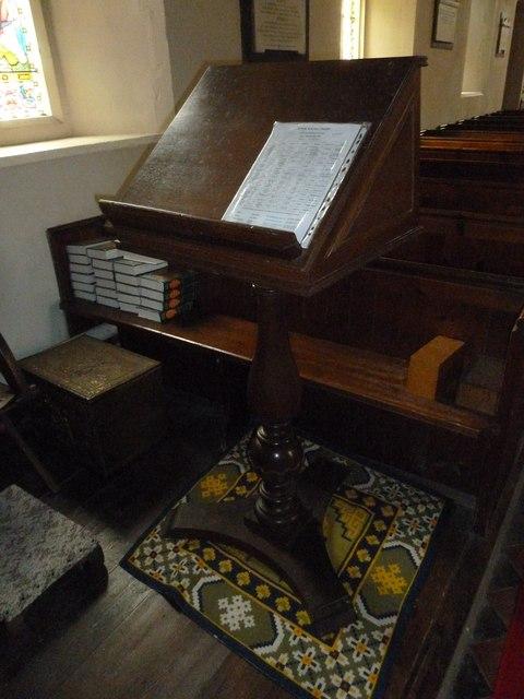 St Peter & Paul, Shalden: lectern
