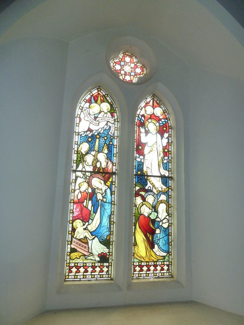 St Peter & Paul, Shalden: stained glass windows (III)