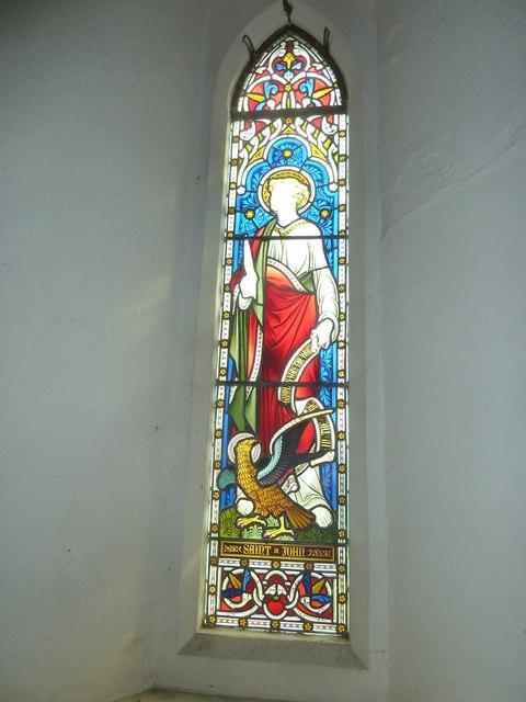 St Peter & Paul, Shalden: stained glass windows (V)
