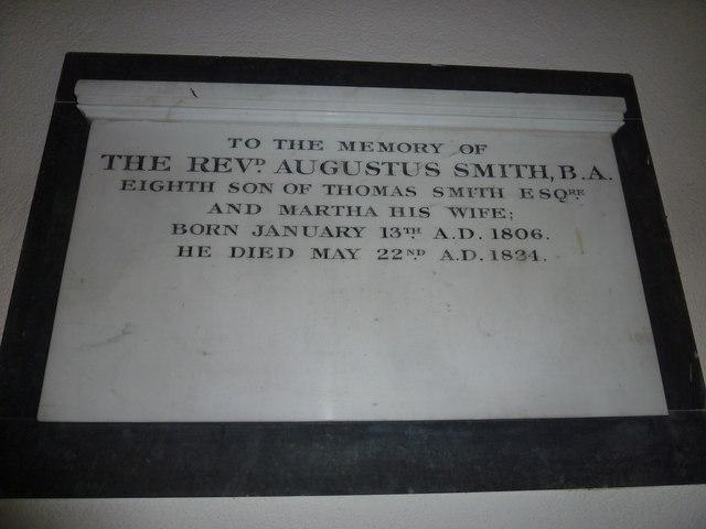 St Peter & Paul, Shalden: memorial (D)