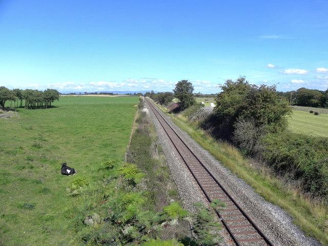 The Railway at Wrea Green