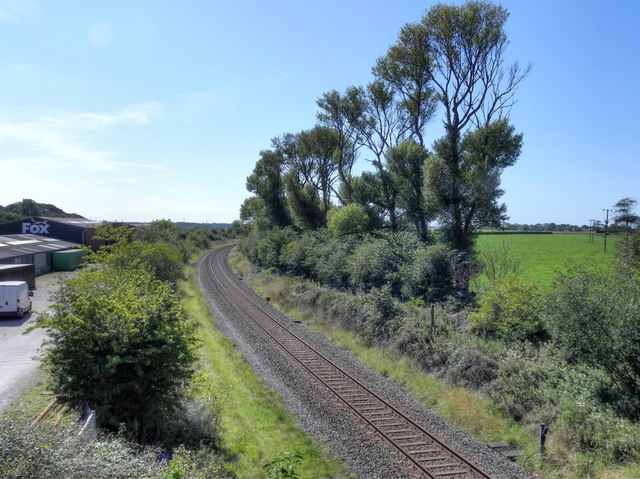 The Railway at Wrea Green (2)