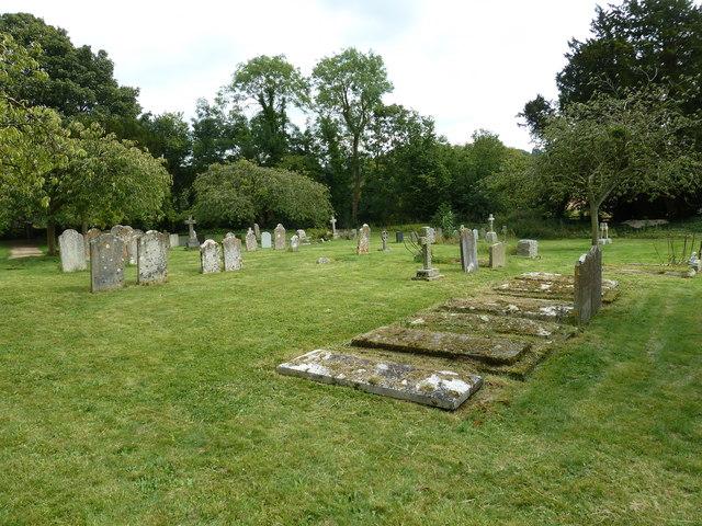 St Peter & Paul, Shalden: churchyard (d)