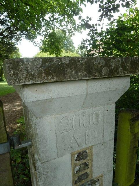 St Peter & Paul, Shalden: Millennium Commemoration