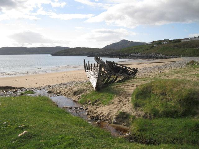 Wreck at Talmine Bay