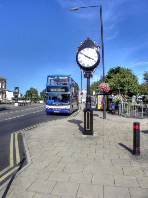 Freckleton Clock, Lytham Road