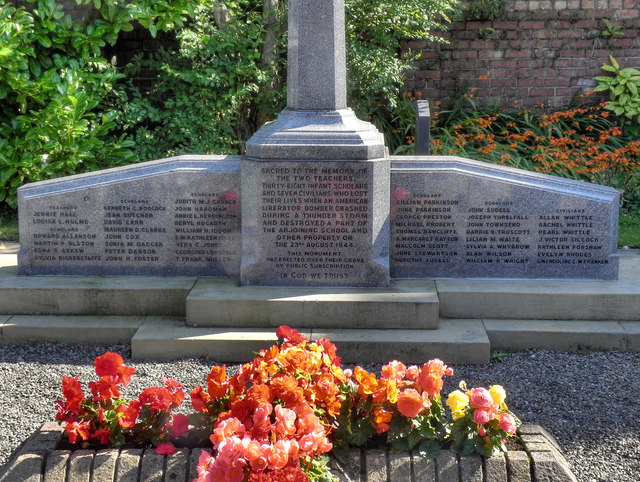 Freckleton Air Disaster Memorial (detail)