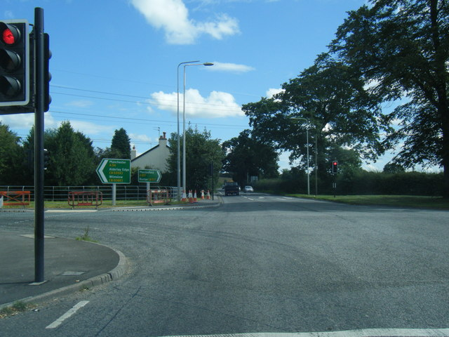 Chelford Road/Congleton Road junction