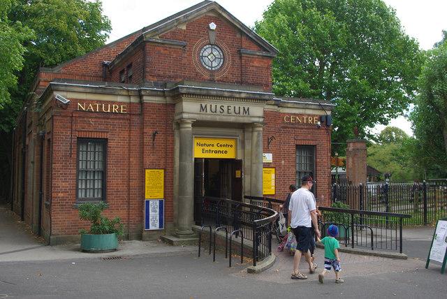 Entrance to Birmingham Nature Centre