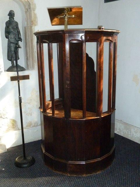 Saint Mary's, Upton Grey: pulpit