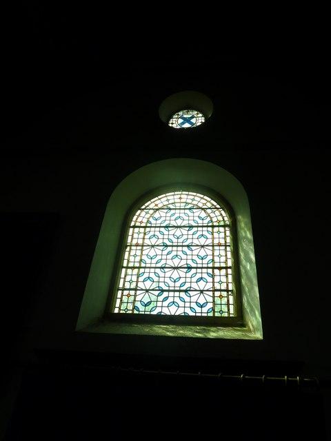 Saint Mary's, Upton Grey: stained glass windows  (B)