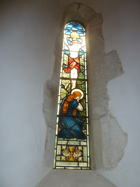 Saint Mary's, Upton Grey: stained glass window  (E)