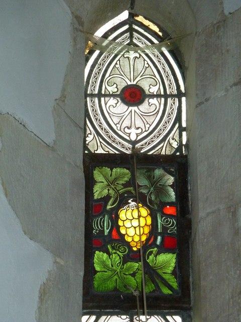Saint Mary's, Upton Grey: stained glass window  (F)
