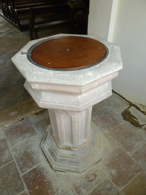 Up Nately- St Stephen's: font